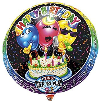 Singing Happy Birthday Balloons